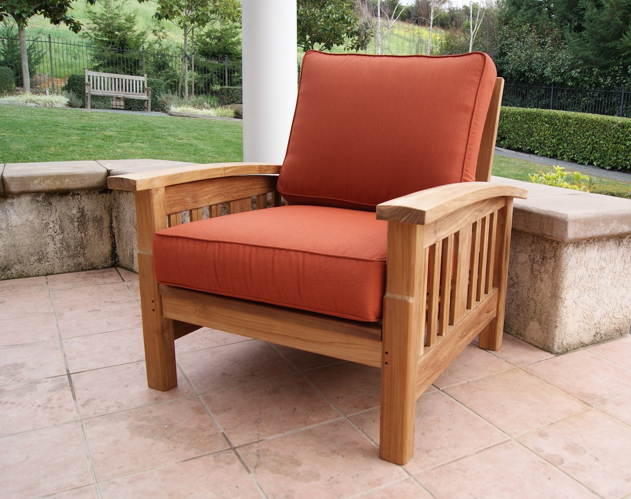 mission style teak sofa set rh tomsoutdoorfurniture com