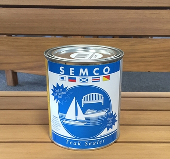 Semco Teak Sealer Gold-Tone Quart
