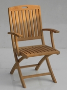 Stinson Folding Arm Chair