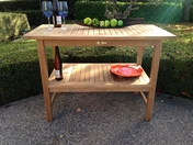 Teak Buffet Table