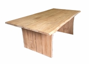 Teak Live Edge Table 6.5F