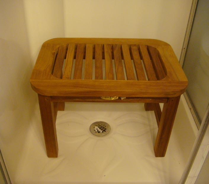 Oval Shower Bench