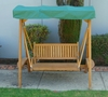 Teak Porch Swing with Stand