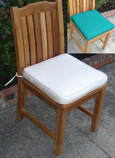cushion for teak side dining chair