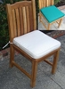 Teak Side Chair Outdoor Cushion