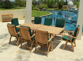 Teak Slumber Table Set