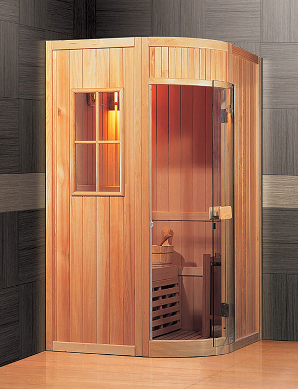 one person traditional sauna