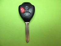 Replacement Toyota remote head key cut and program