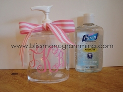 Acrylic Hand Sanitizer Dispenser