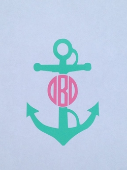Anchor Car Monogram