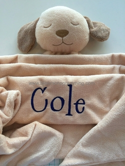 Animal Napping Blanket {Boy}