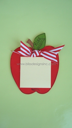 Apple<br>Sticky-Note Holder