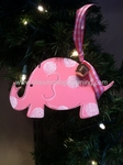 Baby Elephant Girl<br>Christmas Ornament<br>SOLD OUT