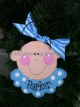 Baby Face Boy<br>Christmas Ornament