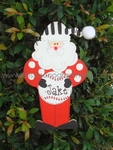 Baseball Santa<br>Christmas Ornament