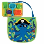 Beach Tote with Tools<br>Pirate Octopus