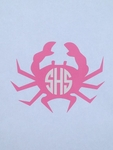 Crab Car Monogram