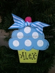 Cupcake Boy<br>Christmas Ornament