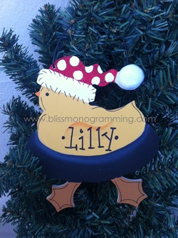 Duck<br>Christmas Ornament
