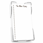Family Pride List with Holder