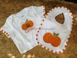 Halloween Onesie and Bib