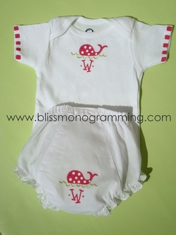 Hand-Painted Bloomers & Shirt Gift Set