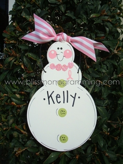 Limited-Edition Cancer Survivor Snow Lady<br>Christmas Ornament