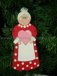 Mrs. Claus<br>Christmas Ornament