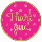 Pink Thank You<br>Cookies