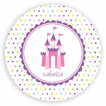 Princess Castle Plate