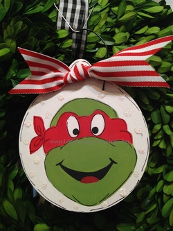 Red Turtle<br>Christmas Ornament