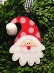 Santa Wavy Beard<br>Christmas Ornament<br>SOLD OUT