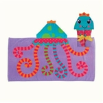 Stephen Joseph Hooded Towel<br>Octopus