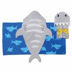 Stephen Joseph Hooded Towel<br>Shark