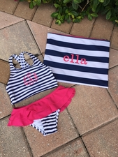 Striped Wet Bag