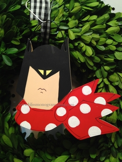 Superhero Bat<br>Christmas Ornament
