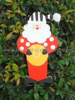 Tennis Santa<br>Christmas Ornament