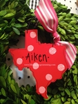 Texas<br>Christmas Ornament