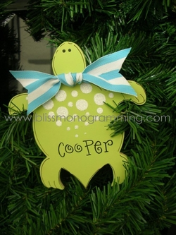Turtle<br>Christmas Ornament<br>SOLD OUT
