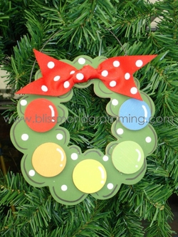 Wreath<br>Christmas Ornament