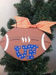 XL Football UF<br>Christmas Ornament