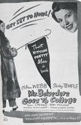 Mr. Belvedere Goes to College 1949 (DVD)