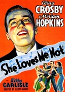 She Loves Me Not 1934 (DVD)