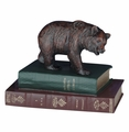 Bear On Books Statue