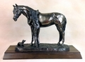 """Best Friends"" Cold Cast Bronze Statue"