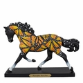 """Butterflies Run Free"" Painted Ponies Figurine"