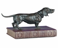 Dachsund On A Book