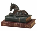 Foal On Two Books