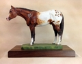 "Full Body Large Size ""Appaloosa"" Trophy"