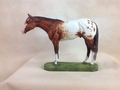 "Full Body Medium Size ""Appaloosa"" Statue"
